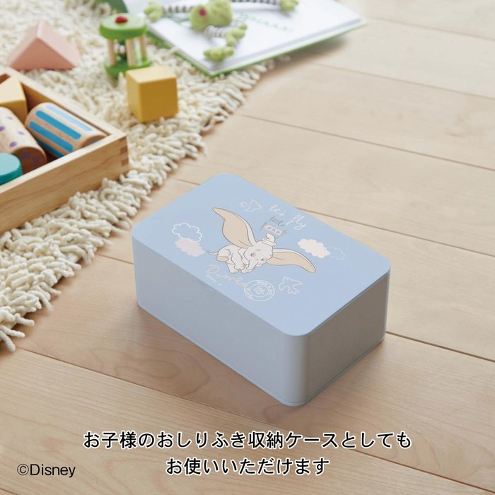 迪士尼Disney皮克斯《預購》濕紙巾收納盒~米奇 小飛象~日本正品~共3款~心心小舖