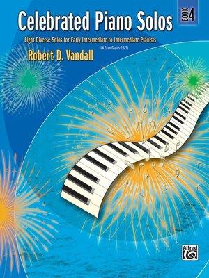 【599免運費】Celebrated Piano Solos, Book 4 Alfred 00-881340