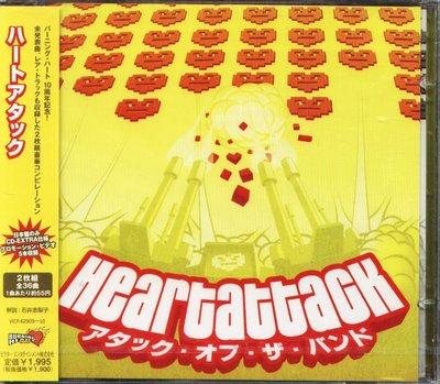 K - V.A. - Heart Attack - 日版 2 CD+5VIDEO Weakerthans - NEW