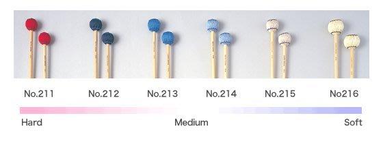 【六絃樂器】全新日本 Saito NO.212 馬林巴琴 木琴 電鐵琴 鐘琴琴槌 / 現貨特價