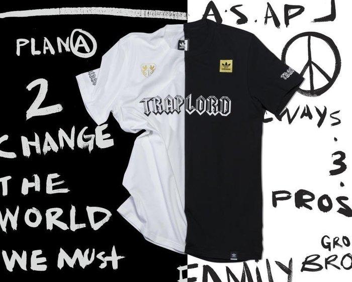 [JIMI 2] adidas Skateboarding - Trap Lord 短Tee A$AP Ferg 獨賣