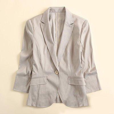 日本訂單 棉麻西裝外套【ZOWOO-G...