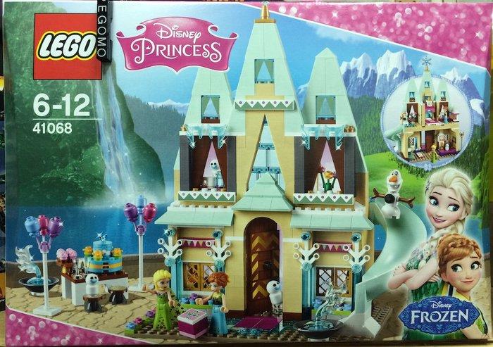 【痞哥毛】LEGO 樂高 41068 迪士尼公主系列 Arendelle 城堡慶典 全新未拆