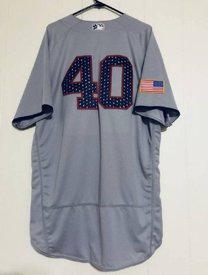 MLB 2017 NY YANKEES ACE #40 SEVERINO GAME ISSUED ROAD JERSEY