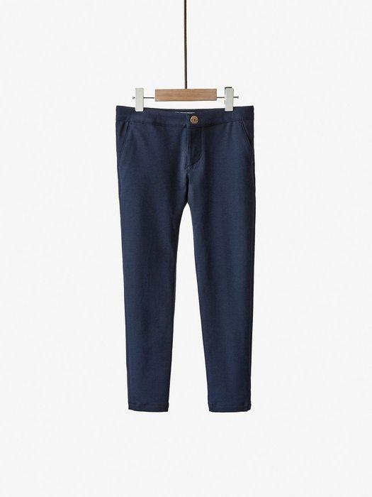 Massimo Dutti 女童深藍長褲