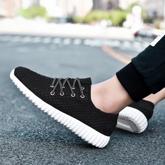 時尚男鞋輕便男鞋爆款男士運動休閑鞋韓版潮流百搭防滑跑步鞋