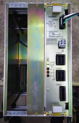 行家馬克 工控 工業設備 安川機器人 JZNC-XRK01電腦控制箱 CN05 專業維修買賣