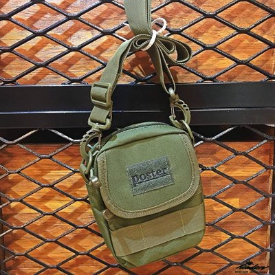 【WODEN】poster_ army bag 軍事小腰包