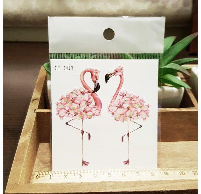【萌古屋】火鶴CD-004 - 防水紋身貼紙刺青貼紙K12