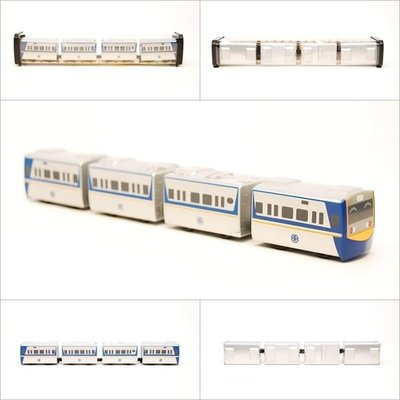 【喵喵模型坊】TOUCH RAIL 鐵支路 Q版 台鐵EMU700小列車 (QV006T1)