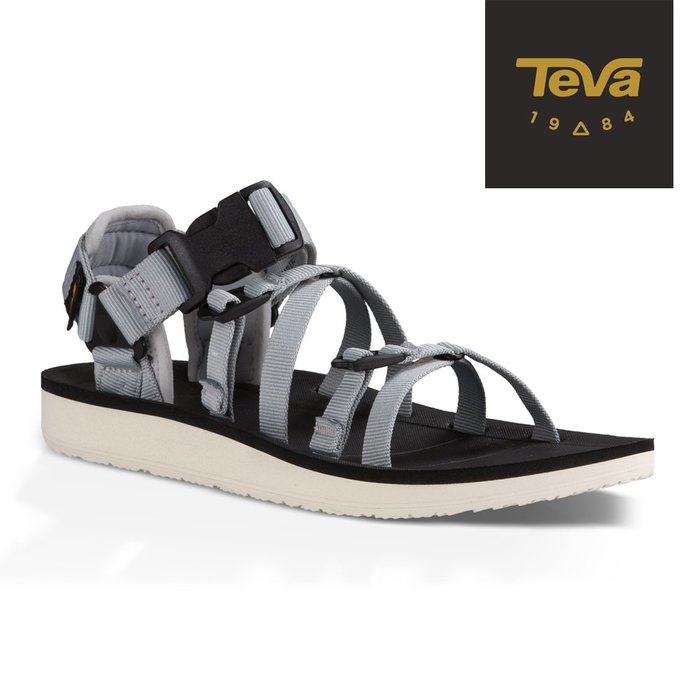 《BEST SPORTS倍斯特體育》TEVA 熱銷款 超輕量時尚休閒涼鞋 女 TV1015182GCGR