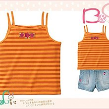 【B& G童裝】正品美國進口GYMBOREE刺繡花橘色背心上衣6yrs