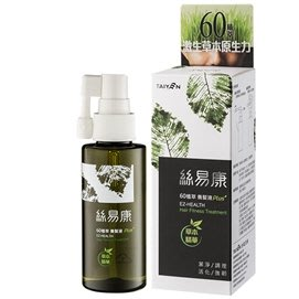 台鹽生技~絲易康60植萃養髮液-60ml/瓶