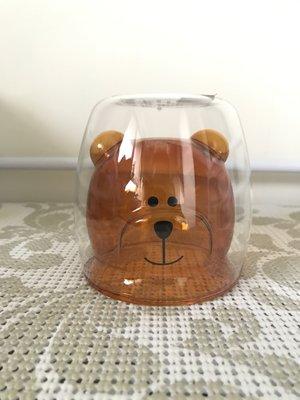 星巴克 Starbucks  bearista 琥珀熊雙層玻璃杯