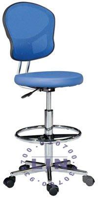 【品特優家具倉儲】R019-16吧台椅洽談椅620五爪彎腳網背吧台椅