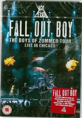 *【正價品】Fall Out Boy打倒男孩合唱團//2015芝加哥演唱會現場實況~歐版DVD -環球、2016年發行