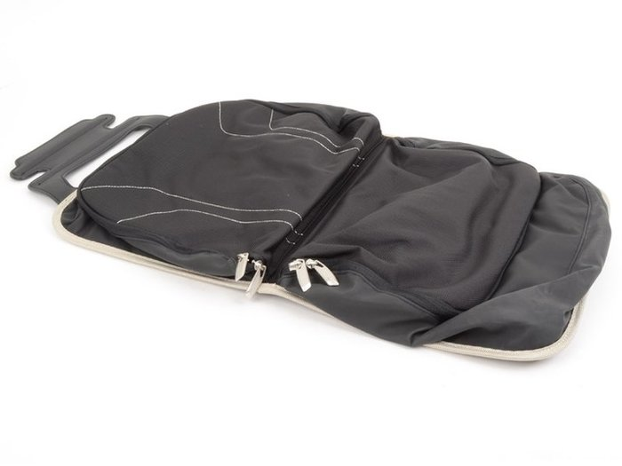 【樂駒】BMW 原廠 全車系 共用 車用 車內 椅背袋 置物袋 收納 空間 雜物 Modern Line 米色