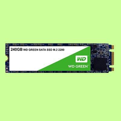 5Cgo【聯強】WD SSD Green 240G 固態硬碟3D TLC;SATA3 M.2 WDS240G2G0B含稅
