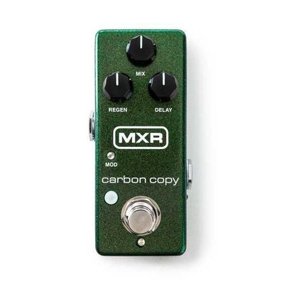 大鼻子樂器 MXR M299 Carbon Copy 延遲效果器