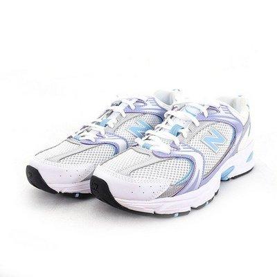 全新正品New Balance NB 530 女鞋 跑步鞋  復古 老爹鞋 白紫色MR530CG1