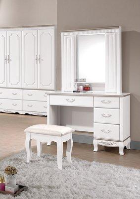 [歐瑞家具] CH115-3 諾維雅3.5尺化妝檯/大台北地區/系統家具/沙發/床墊/茶几/高低櫃/1元起