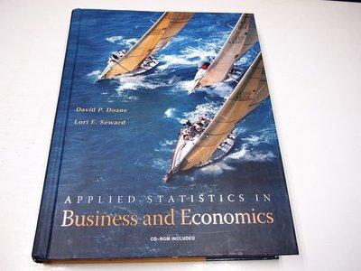 【考試院二手書】《Applied Statistics in Business and Economics》ISBN:0071108149│McGraw-Hill││(B11Z12)
