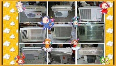 宏品二手傢俱館*二手窗型冷氣*冷氣機/中古空調設備/2手分離式冷氣 二手家電拍賣 液晶電視 冷氣空調 冰箱 台中二手家具
