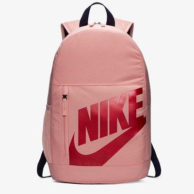 南◇2020 1月 NIKE Elemental 後背包 背包 休閒 筆袋 水壺袋 粉紅色 BA6030-697