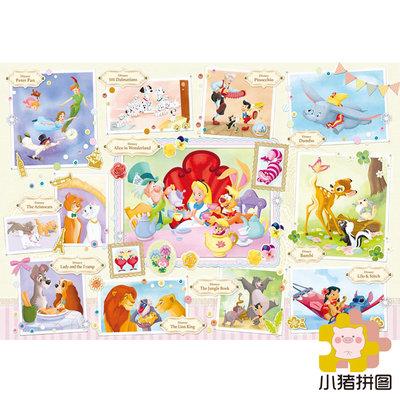 手辦玩具專賣#日本EPOCH拼圖 Treasured Moments 1000片 布質