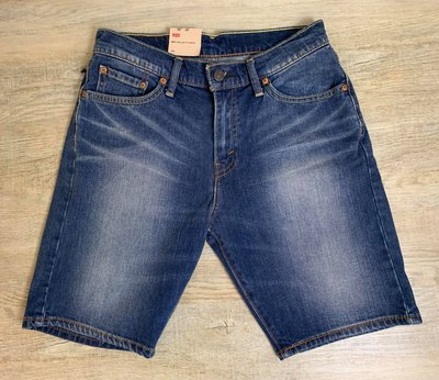Look 鹿客 Levis 505 男款 手刷牛仔短褲