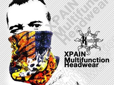 西班牙頭巾 Xpain光陽重機騎士保暖必備Spain Multifunctional Headwear 絲巾 脖圍 領巾