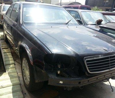 報廢車 零件車-- 雙龍 Chairman 恰爾曼 S500 零件拆賣