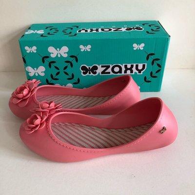 《現貨》Zaxy 香香鞋 防水娃娃鞋 巴西尺寸33/34,36,38,39/40(浪漫花季 果凍娃娃鞋-粉紅色)