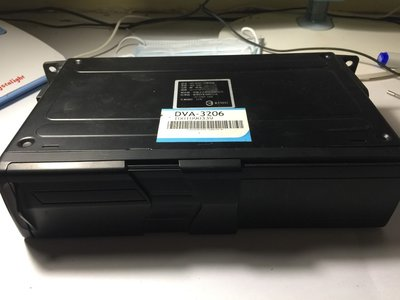 AUDI奧迪A5車上拆下NECVOX DAV-3206 6片DVD箱附遙控器 可議價