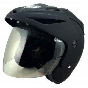 【小齊安全帽】GP5 A202 消光黑 半罩安全帽~羅志祥代言款!! 內襯全可拆洗