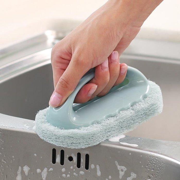 清潔去污浴缸刷瓷磚廚房洗鍋洗碗刷清潔刷海綿擦海綿塊百潔布