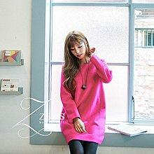 【ZEU'S】韓國秋季新款寬鬆毛尼洋裝『 IA 0236』【現+預】
