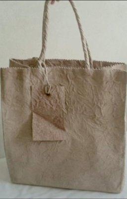 誠品書局手作文創館手工羊皮 手提包 手提袋 書袋可放入A4書本 原價$12800 優惠甜甜價