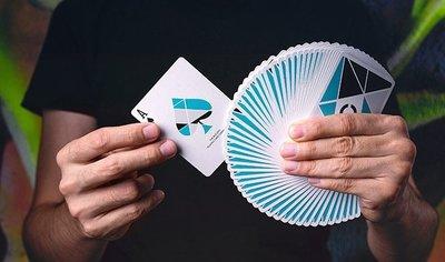 [fun magic] Cardistry藝術者藍色 限量款 花切玩家必入撲克牌 花切撲克牌 花切專用牌 花切專用撲克