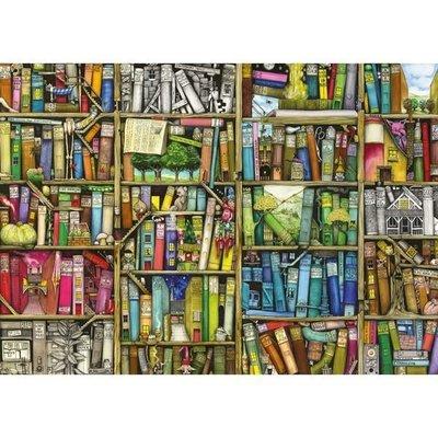 佳佳拼圖屋  Ravensburger The Bizarre Bookshop 1000片 書店  書 書架(217)