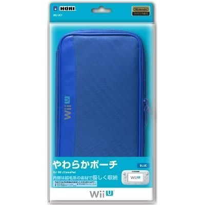 任天堂 Wii U GamePad 專用 HORI 收納包 攜帶包 藍色【台中恐龍電玩】