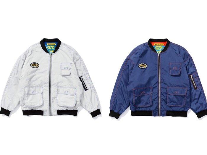 GOSPEL【DPPN-W.S.S. MA1 Jacket】 Navy/Black