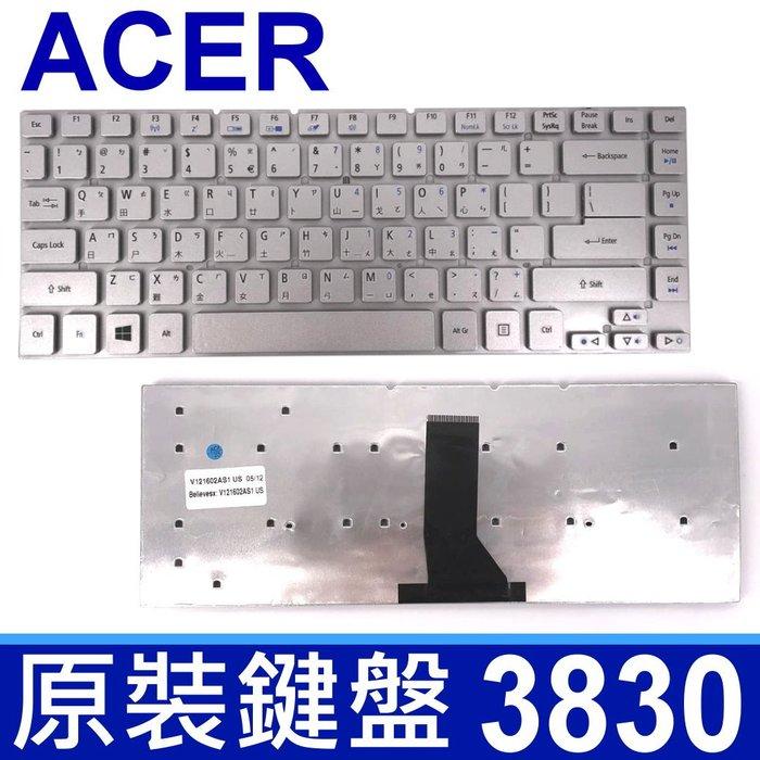 ACER 宏碁 3830 繁體中文 筆電 鍵盤 ES1-522 E5-411 E5-411G E5-421 E5-470