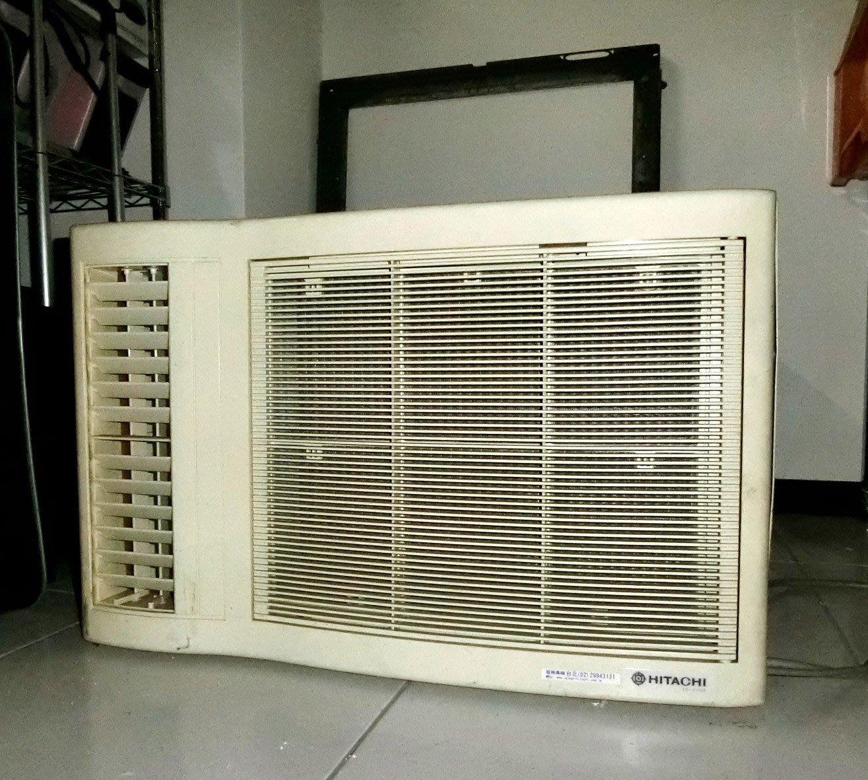 二手 日立窗型冷氣 1.5噸/7-8坪 靜音舒眠 除濕 奈米銀抑菌 RA-36BQ