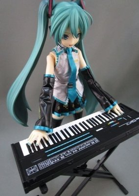 Medicom REAL ACTION HEROES 初音ミク -Project DIVA- F RAH  1/6 初音未來 人偶 公仔