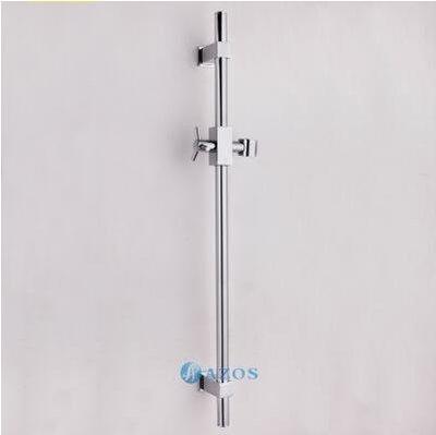 【優上】可調節全銅淋浴花灑升降桿花灑架升降座沐浴噴頭升降花灑支架「6311 方形」