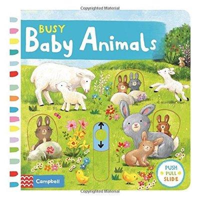 *小貝比的家*BUSY BABY ANIMALS / 硬頁操作書/ 3~6歲 台中市
