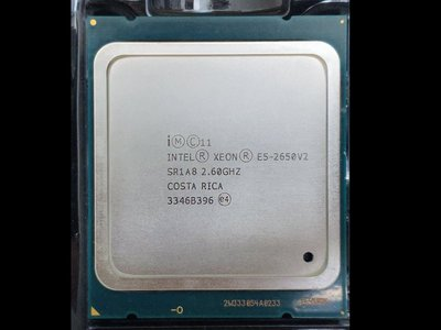 【含稅】Intel Xeon E5-2650 v2 2.6G 8C16T 95W 2011 正式CPU 一年保