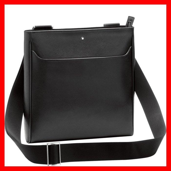 萬寶龍 MONTBLANC 型號:114582 十字紋牛皮斜背包 (預購)