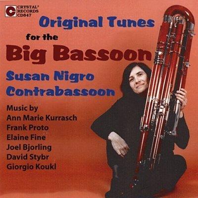 最低音巴松管宏偉吹奏 Original Music For The Big Bassoon--- CD847